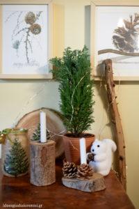 Χριστουγεννιάτικες συνθέσεις στο σπίτι!
