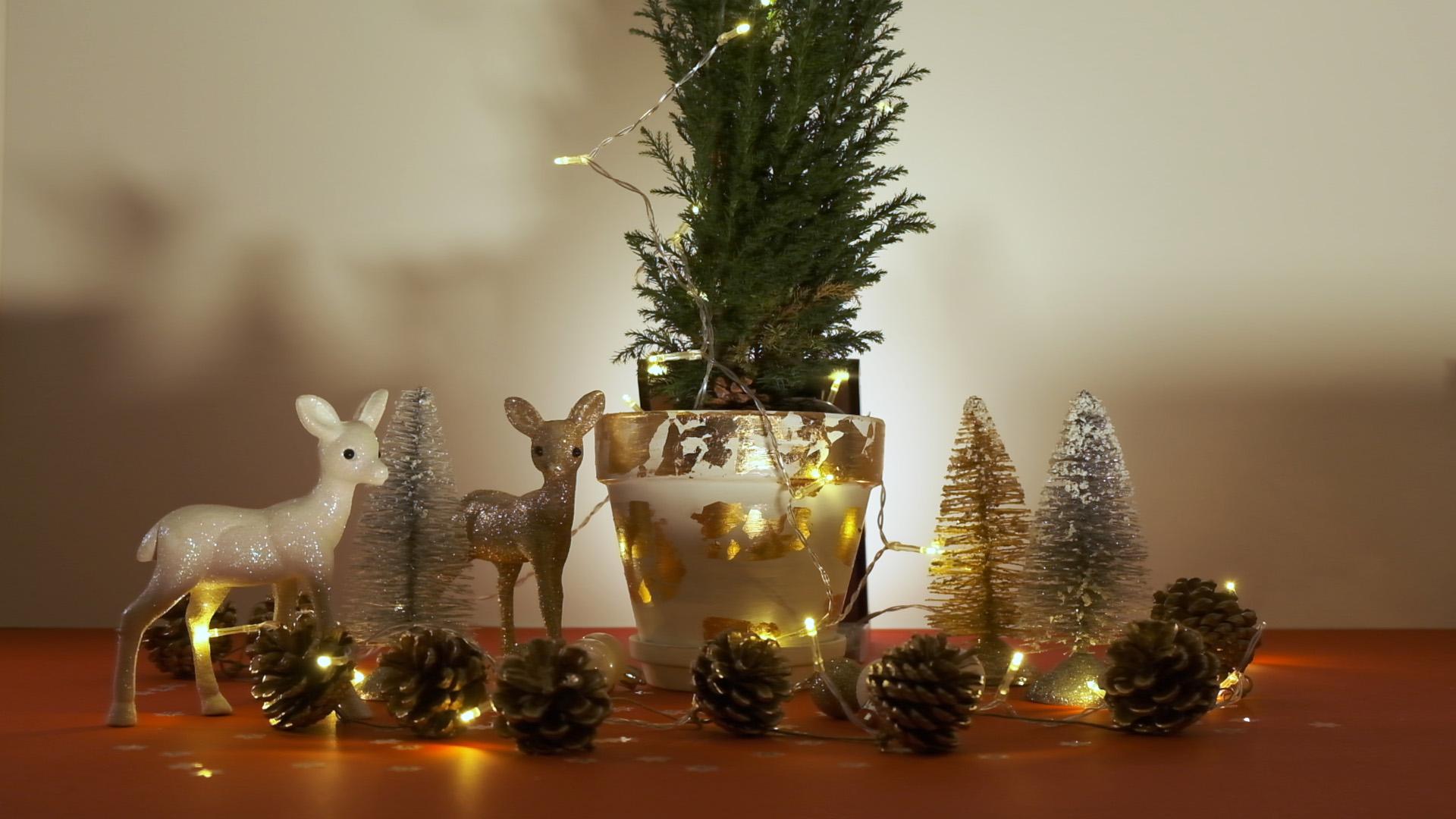 Χριστουγεννιάτικη Γιρλάντα με Κουκουνάρια! (video)