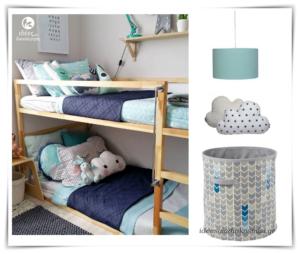 Με δύο, τρία και τέσσερα κρεβάτια για το παιδικό δωμάτιο!