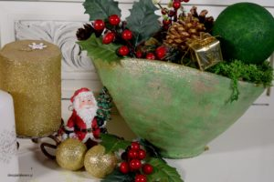 Diy,Χριστουγεννιάτικη σύνθεση!