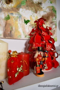 Diy,Χριστουγεννιάτικο δεντράκι με κορδέλες!