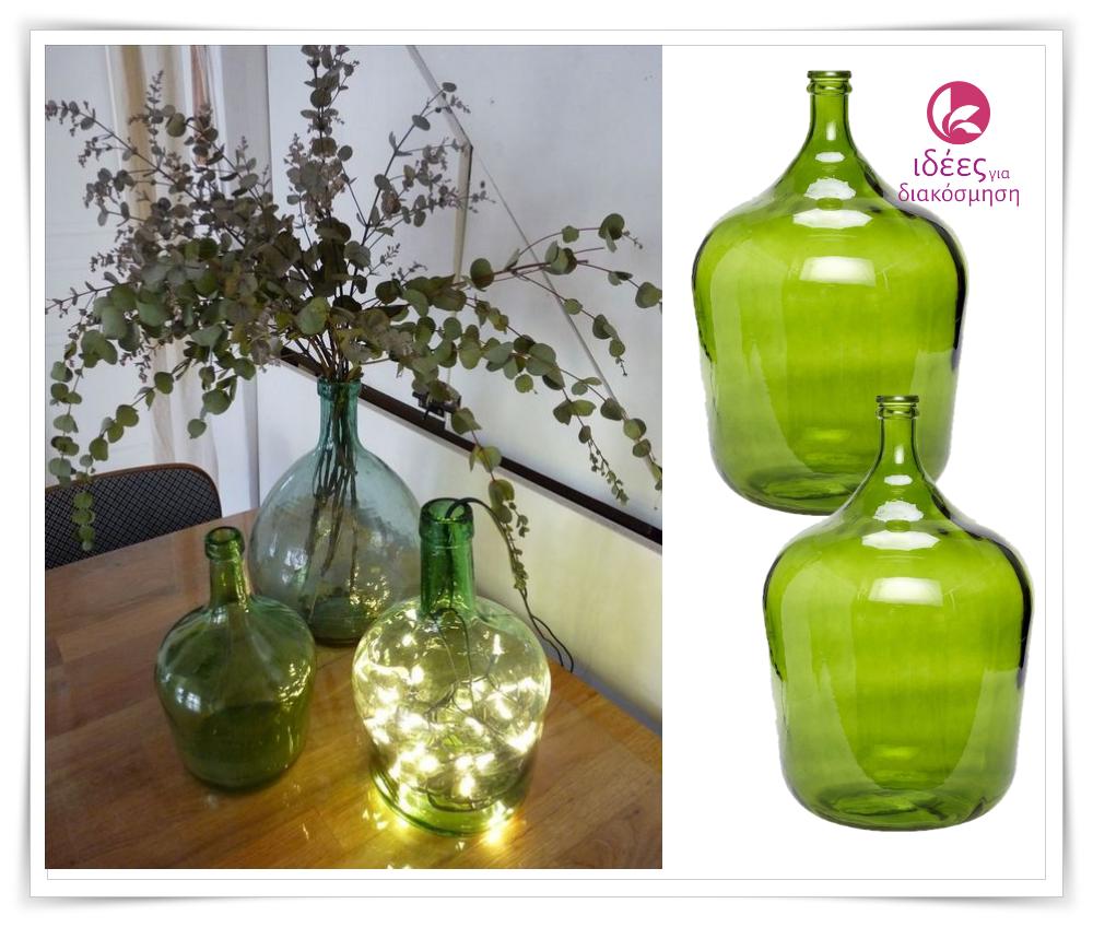 Πως να διακοσμήσετε άδειες μπουκάλες ή φιάλες στο σπίτι σας!