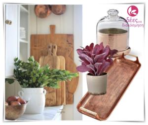 Οργανώστε τον πάγκο της κουζίνας σας με όμορφες ιδέες!