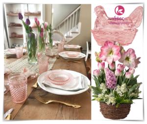 Ρόζ πινελιές για την Πασχαλινή διακόσμηση!