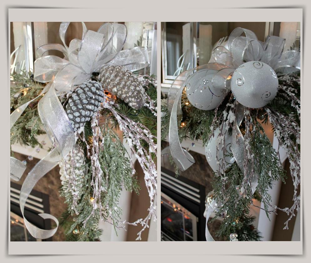Ασημένιες πινελιές στην Χριστουγεννιάτικη διακόσμηση!