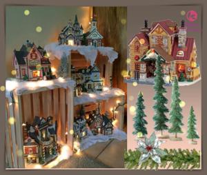 Χριστουγεννιάτικη διακόσμηση με ξύλινα κασόνια!