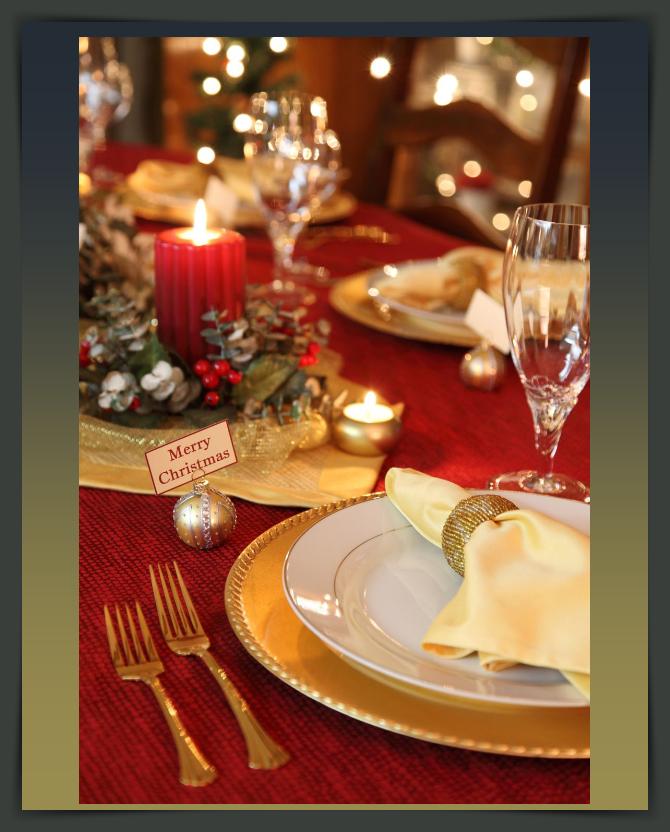 Προτάσεις και ιδέες για το εορταστικό τραπέζι σας!