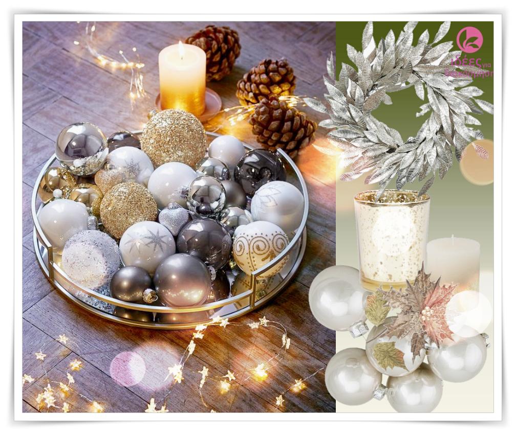 Ιδέες για να διακοσμήσετε Χριστουγεννιάτικους δίσκους!