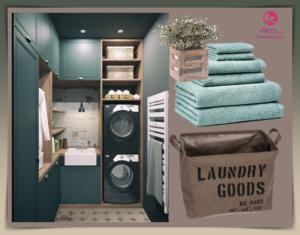 Ιδέες και προτάσεις για το δωμάτιο του  πλυντηρίου (laundry) στο σπίτι!