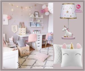Παστέλ αποχρώσεις του ροζ για το κοριτσίστικο δωμάτιο!