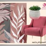 pirgianaki-pink armchair