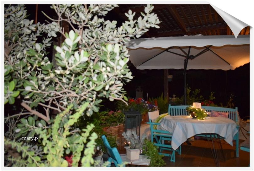 Καλοκαιρινή διακόσμηση στη βεράντα μου(veranda my home)!