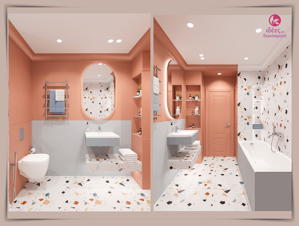 Η πιο σύγχρονη και μοντέρνα εκδοχή του μωσαικού για την διακόσμηση στο μπάνιο!